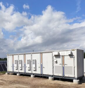 solar power battery storage